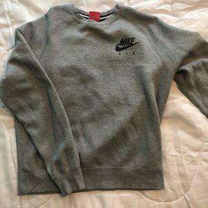 Nike air sweatshirt (reflective)